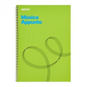 Cuaderno de música Additio Appunto