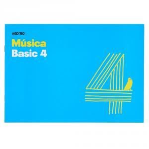 Cuaderno de música Additio Basic 4 pentagramas
