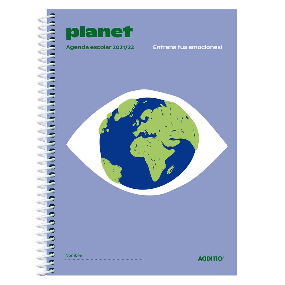 Agenda escolar Planet 2021/2022