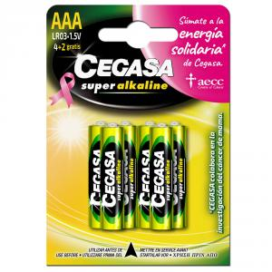 Pila superalcalina LR03 blíster 4 2 gratis AECC