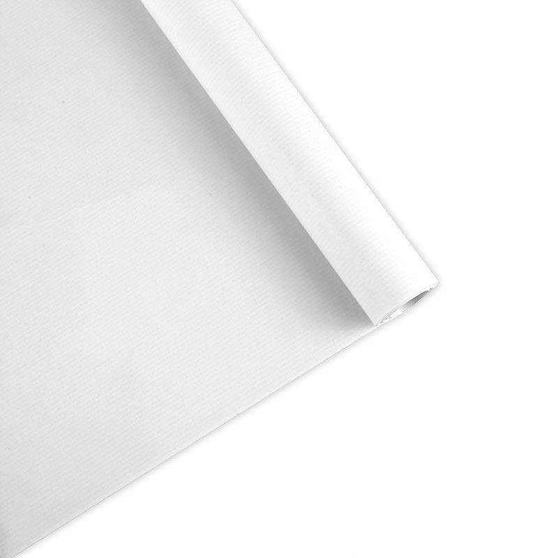 Papel Kraft blanco rollo 50x1m