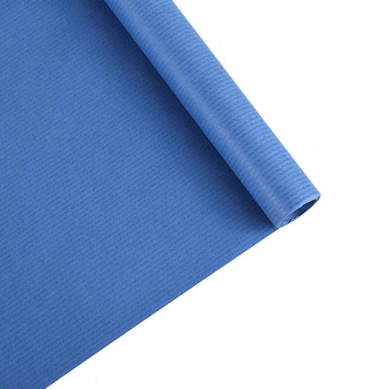 Papel Kraft azul rollo 50x1m