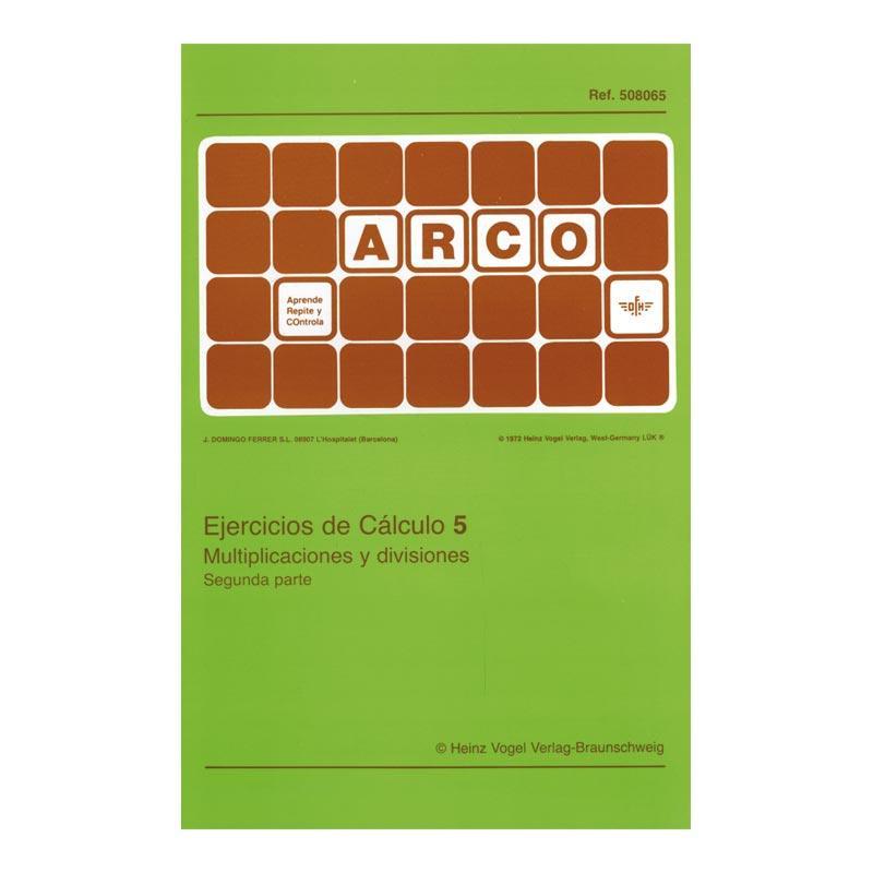 Arco: Ejercicios de cálculo 5