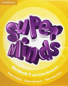 Super Minds 5 EP. Workbook Online. Cambridge