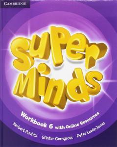 Super Minds 6 EP. Workbook (Online resources). Cambridge