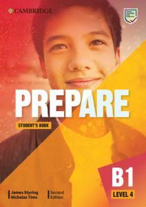 Prepare! Level 4. Students. Cambridge