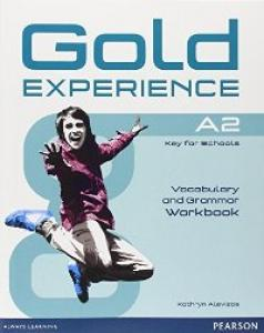Gold Experience A2 workbook. Pearson