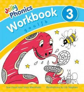 JOLLY PHONICS WORKBOOK 3 PRECURSIVE LETTERS