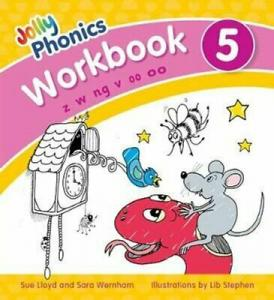 JOLLY PHONICS WORKBOOK 5 PRECURSIVE LETTERS