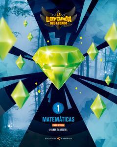 MATEMATICAS 1ºEP CUADRICULA TRIMESTRES 18 LEYENDA