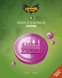 CUADERNO CIENCIAS DE LA NATURALEZA 3 EP.Madrid. Superpixepolis