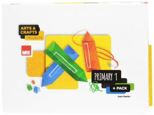 ARTS AND CRAFTS 1ºEP 17 PROJECTS PLUS PACK (6 CUAD)