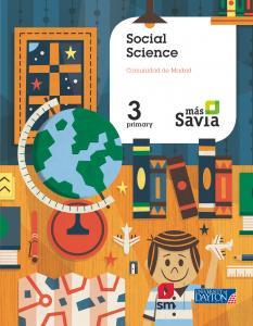 Social Science 3º Primaria Madrid Más Savia