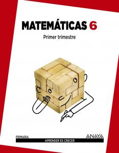 Matemáticas 6º Primaria, Madrid aprender es crecer