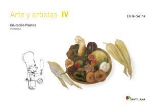 Cuaderno Arte y Artistas 4 EP. Santillana