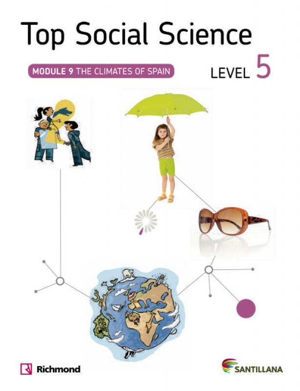 Top Social Science 5 EP. Climates of Spain. Santillana