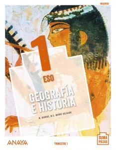 Geografía e Historia 1º ESO, Madrid suma piezas