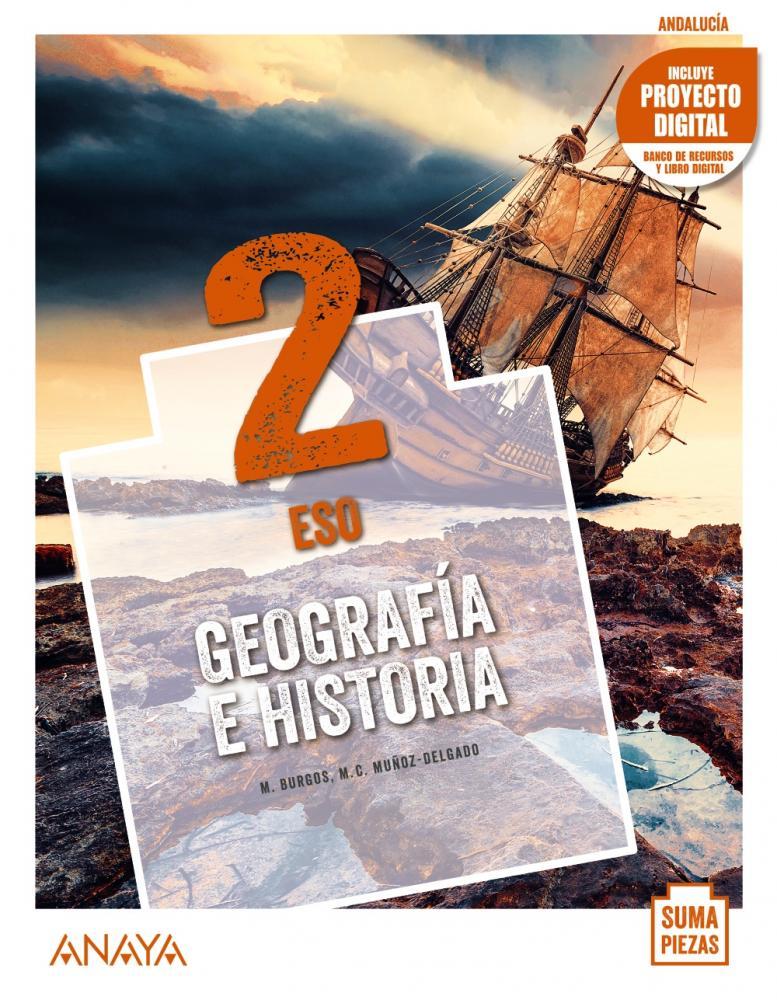 Geografía e Historia 2 eso 1 volumen Andalucía