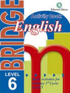 Cuaderno de Inglés BRIDGE 6 primaria