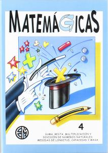 CUADERNO MATEMAGICAS 4. MASPE.