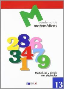 CUADERNO MATEMATICAS 13. DYLAR.