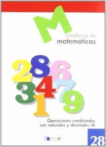 CUADERNO MATEMATICAS 28. DYLAR.