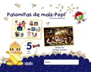 Palomitas de maiz 5 años. 1º trimestre (Bilingue). Algaida