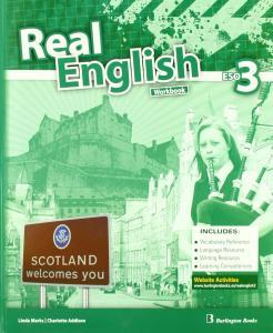 Real English 3 ESO. Workbook Burlington.